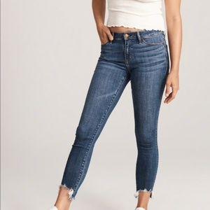 Abercrombie Harper Low Rise Ankle Jeans Sz 26